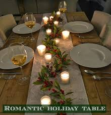 all sorts of ricci a romantic holiday table
