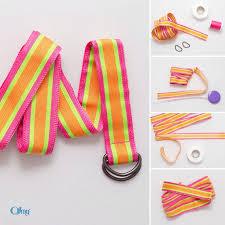 ribbon belts best 25 ribbon belt ideas on diy ribbon belt woven