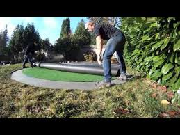 how to install your bella turf putting green kit youtube