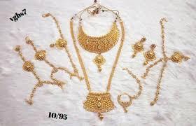 indian bridal jewelry necklace images Indian bridal necklace set women wedding fashion jewelry gold jpg