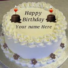 online birthday cake stylish birthday cake editing online with name photo happy