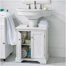 under pedestal sink storage cabinet bathroom cabinets under sink the best option weather bathroom under