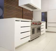 modern contemporary kitchen design including modern wood cabinets