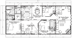 Double Wide Mobile Home Floor Plans Everglade Mobile Home Floor Plan Factory Expo Home Centers
