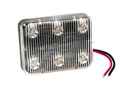 78833 self adhesive led auxiliary light rectangle