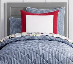 gingham percale cosy quilt pottery barn kids