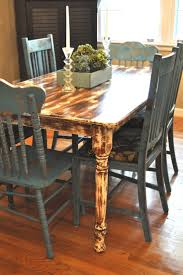 Distressed Kitchen Furniture by 35 Best Up Cycle Table Ideas Images On Pinterest Home Diy And