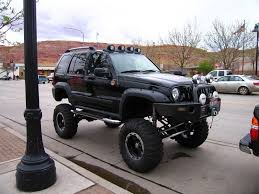 2002 jeep liberty fog lights a lifted 2002 jeep liberty sport with fog lights i don t like it