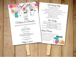 wedding program fan templates free wedding program template 64 free word pdf psd documents