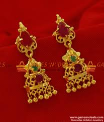 long rings design images Er187 long hanging ear ring peacock cubic zircon stone party jpg