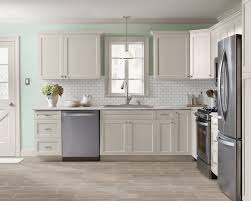 kitchen facelift refacing old cabinets subway tile backsplash