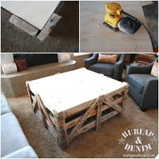 Diy Coffee Tables - reclaimed shipping crate and sherpa diy coffee tableburlap u0026 denim
