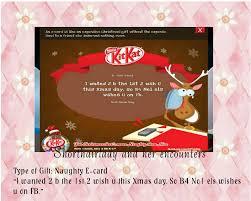 shorthairlady u0026 her encounters kit kat christmas crazyprezzies