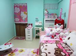 cute hello kitty bedroom set design ideas u0026 decors