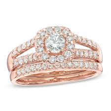 Rose Gold Wedding Rings by Top 25 Wedding Ring Sets With Images