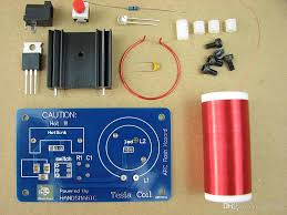 diy kits mini tesla coil teaching experiment science toy physical experiment