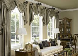 elegant curtains for dining room home decorating interior
