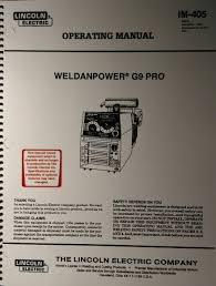 lincoln weldanpower g9 pro 250 welder u0026 onan engine operating