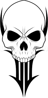how to draw a traditional skull tattoo step by step tattoos pop