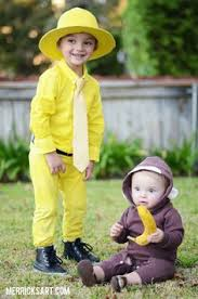 Brother Sister Halloween Costume Awesome Costume Man Yellow Hat Toddler Halloween