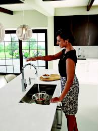 Motion Sensor Kitchen Faucet Why Touch Your Kitchen Faucet When You Don U0027t Have To Moen Expands