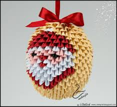 origami bauble gallery craft decoration ideas