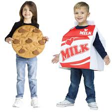 Quick Halloween Costumes For Teens Cookies And Milk Costume For Toddlers Buycostumes Com