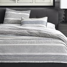 Pinched Duvet Cover Medina Full Queen Duvet Cover Crate And Barrel
