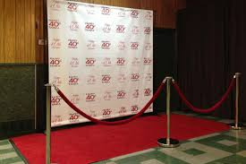 custom photo backdrops carpet runway and step repeat backdrops