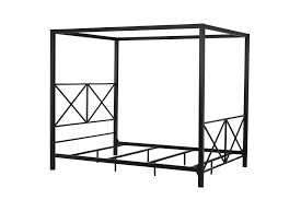 dhp furniture rosedale metal canopy queen bed