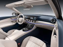 mercedes interior a look at the mercedes e class cabriolet interior