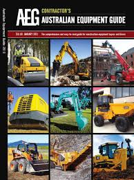 australian equipment guide contractor magazine by aspermont aust
