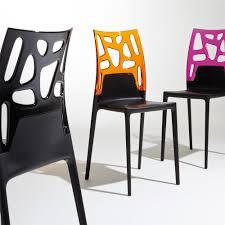 cuisine noir et rouge chaise formidable chaise noir design chaise vintage rouge cleo