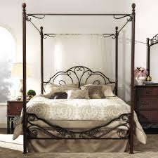 rod iron bed frame canopy romantic vintage rod iron bed frame