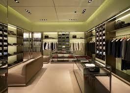 Modern Fashionable Garment Shop Interior Design For Men Clothes - Modern boutique interior design