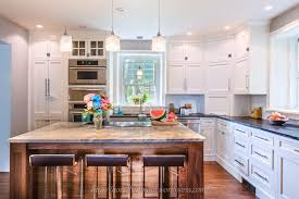 B And Q Kitchen Cabinet Doors White Country Kitchen Remodel With Marble Backsplash