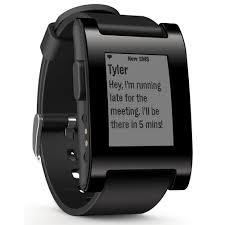 black friday smartwatch amazon com pebble smartwatch black cell phones u0026 accessories