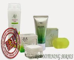 review rj whitening series produk pemutih wajah tubuh belia cantik
