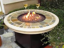 Costco Outdoor Furniture With Fire Pit by Custom Fire Pit Tables Ideas