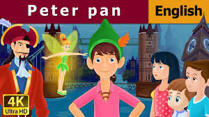 peter pan english bedtime story children kids stories