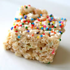 funfetti rice krispies treats rice krispy treats with sprinkles