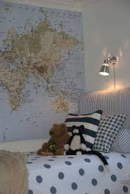 Ikea World Map Canvas by 61 Best Connor U0027s Vintage Airplane Room Images On Pinterest Big