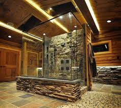 Small Bathroom With Walk In Shower Rustic Shone Walk In Shower Designs Bathroom Walk In Shower