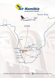 Spirit Route Map by Charming Windhoek In Nambia Angola S Friendly Neighbour Country