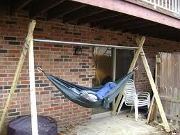 Diy Portable Hammock Stand Good Diy Hammock Stand From Diy Hammock Stand