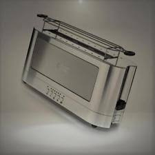 Toaster Glass Sides Glass Toaster Ebay