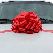 big ribbon large car bow 16 wide health personal care