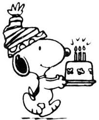 snoopy coloring pages birthday coloring pages ideas