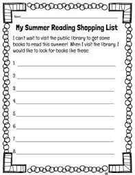 free library worksheets for the end of the year tpt
