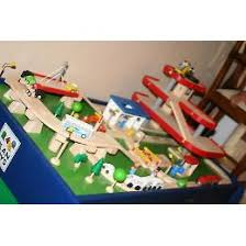 plan toys garage train station track and table set product